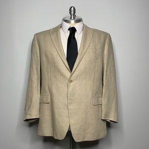 Ralph Lauren Blazer - Beige Linen Mens 48R